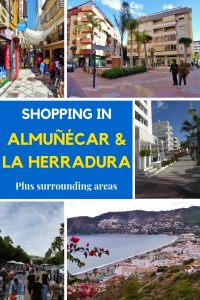 You can find just about anything for your daily needs when shopping in Almuñécar or shopping in La Herradura.  Once in a while you may want to go to a big shopping center, so we share some of those options with you too. Read more on Almunecarinfo.com