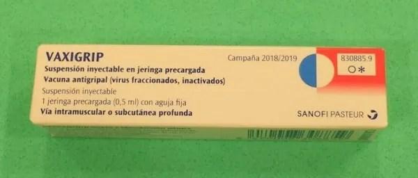Vaxigrip flu vaccine