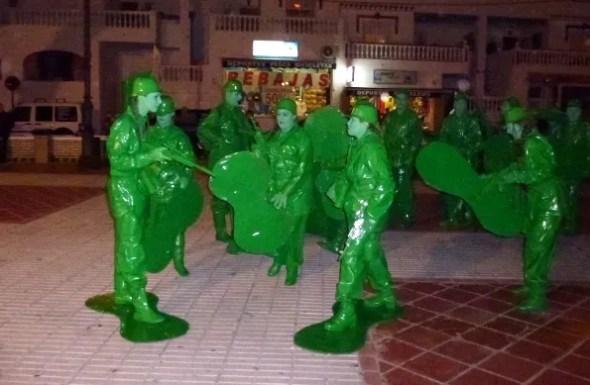 Almuñécar & La Herradura Carnival group costume contest