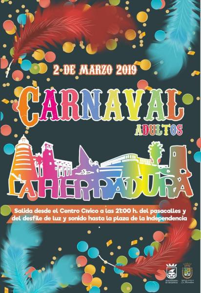 La Herradura Carnival 2019 - Three days of activities for children, costume contests, music and fun. Read more on Almunecarinfo.com