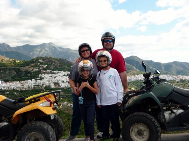 quad bike tours Frigiliana