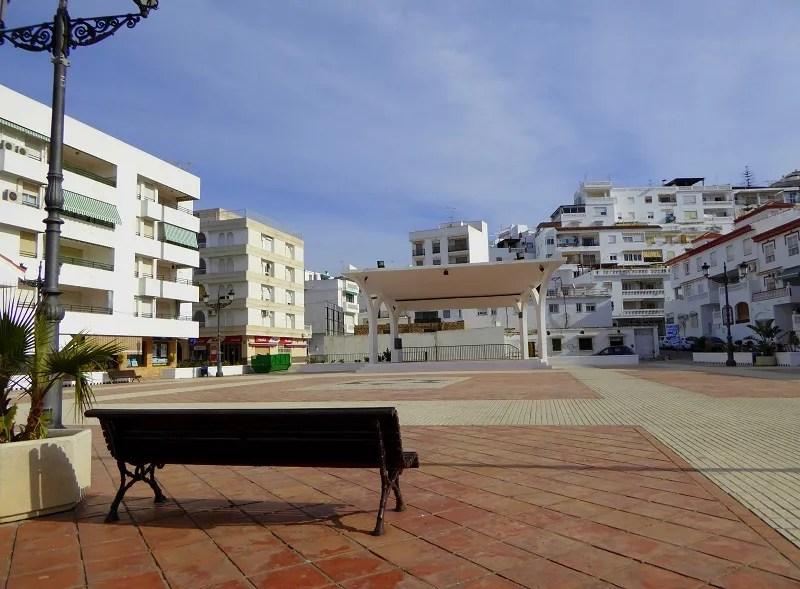 Plaza de la independencia La Herradura