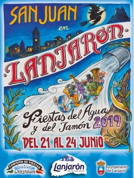 Fiesta de San Juan in Lanjarón