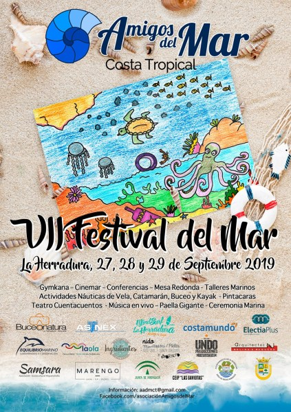 Festival del Mar (Festival of the sea) La Herradura! Celebrate the sea, learn about the environment, socialize, enjoy activities, eat food, and have fun.