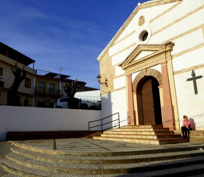 Church San Antonio Lobres, Salobreña