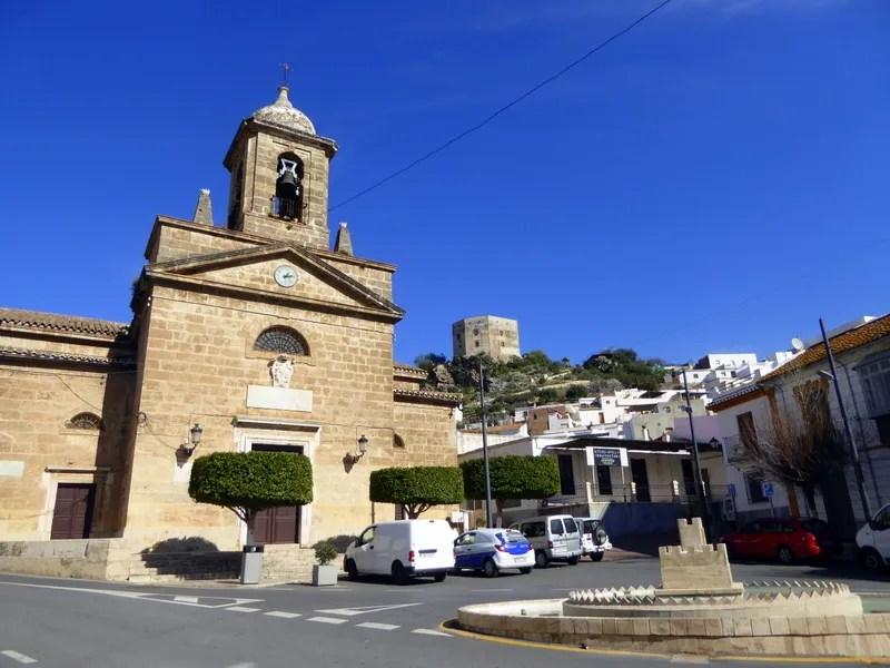Vélez de Benaudalla Granada Iglesia Nuestra Señora del Rosario