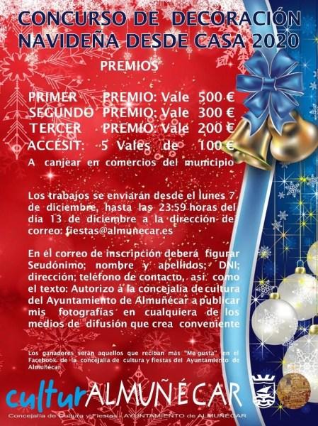 Almuñécar & La Herradura Home Christmas Decoration Contest 2020 . Read more on Almunecarinfo.com