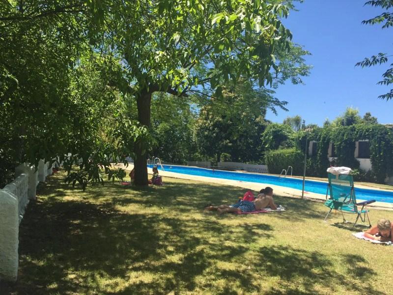 Camping El Balcón de Pitres swimming pool