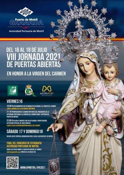 Motril Fiestas Virgen del Carmen Schedule 2021