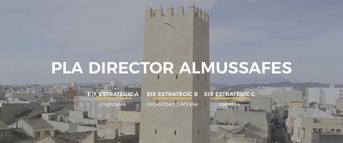 Logo pla director d'Almussafes