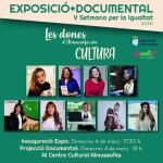 La V Setmana per la Igualtat  estrena el documental 'Les dones d'Almussafes són Cultura'