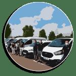 L'Ajuntament d'Almussafes renova la flota municipal amb set vehicles per a obres, urbanisme i el ser...