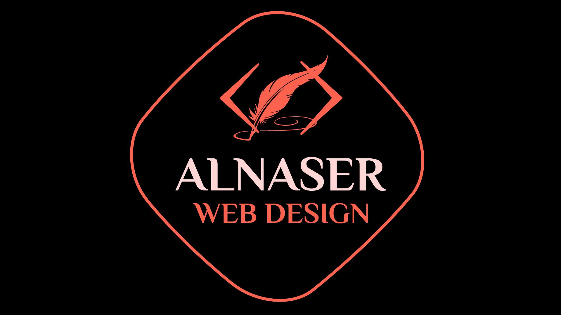 new alnaser web design logo