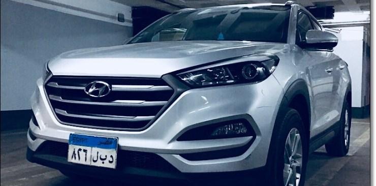 تأجير سيارة هيونداي توسان في مصر أحدث شكل
