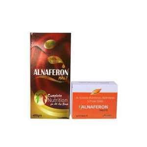 Alnavedic Combo Alnaferon Malt + Alnaferon Tablet  For Immune System