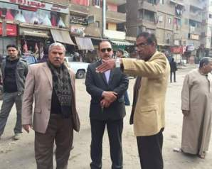 حمله مكثفه من الانجازات فى مدينه غرب شبرا الخيمه