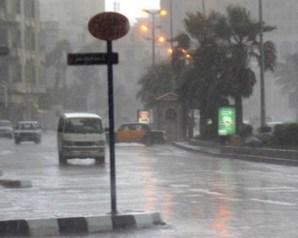 الأرصاد: أمطار غزيرة على أغلب أنحاء الجمهورية يوم الأثنين