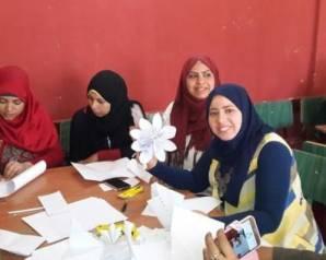 «البيئة» تطلق حملة توعية بـ«الأورجامى» فى مدارس حلوان