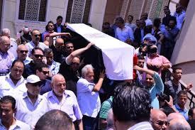 سياسيون وإعلاميون فى وداع محفوظ عبدالرحمن.. و«سميرة» تنهار