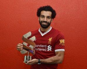 """ليفربول يهنئ محمد صلاح على جائزة """"لاعب الشهر"""" من رابطة المحترفين"""