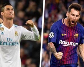 التعادل يحسم كلاسيكو الأرض بين برشلونة وريال مدريد 2-2..ميسي ورونالدو يسجلان ويواصلان تحقيق الأرقام القياسية