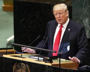ترامب يتوعد عدة دول في ثاني خطاب له أمام الجمعية العامة
