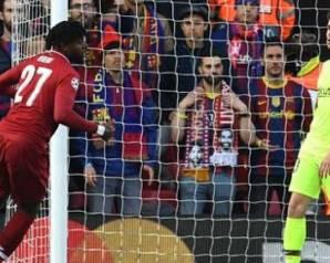 ريمونتادا تاريخية لليفربول فى مواجهة برشلونة فى إياب نصف النهائي