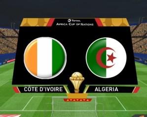 الجزائر وكوت ديفوار فى دور الـ 8 من بطولة كأس أمم افريقيا