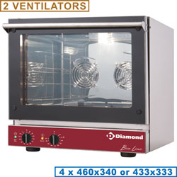ELECTRIC CONVECTION OVEN 4x 460x340 mm
