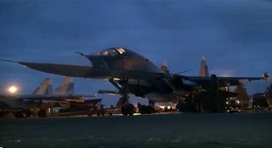 دفعة جديدة من الطائرات الروسية تغادر سوريا من بينها إليوشن-76 وسوخوي-25