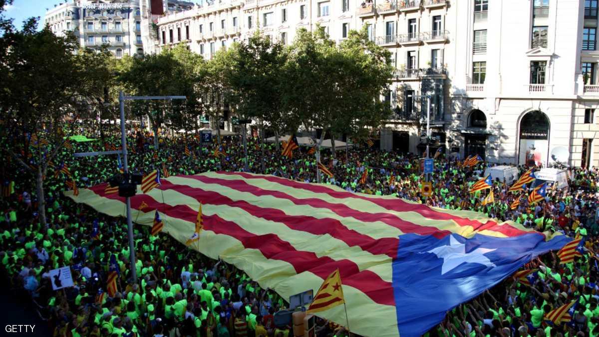 اسبانيا ..مظاهرات في كتالونيا للمطالبة بالاستقلال