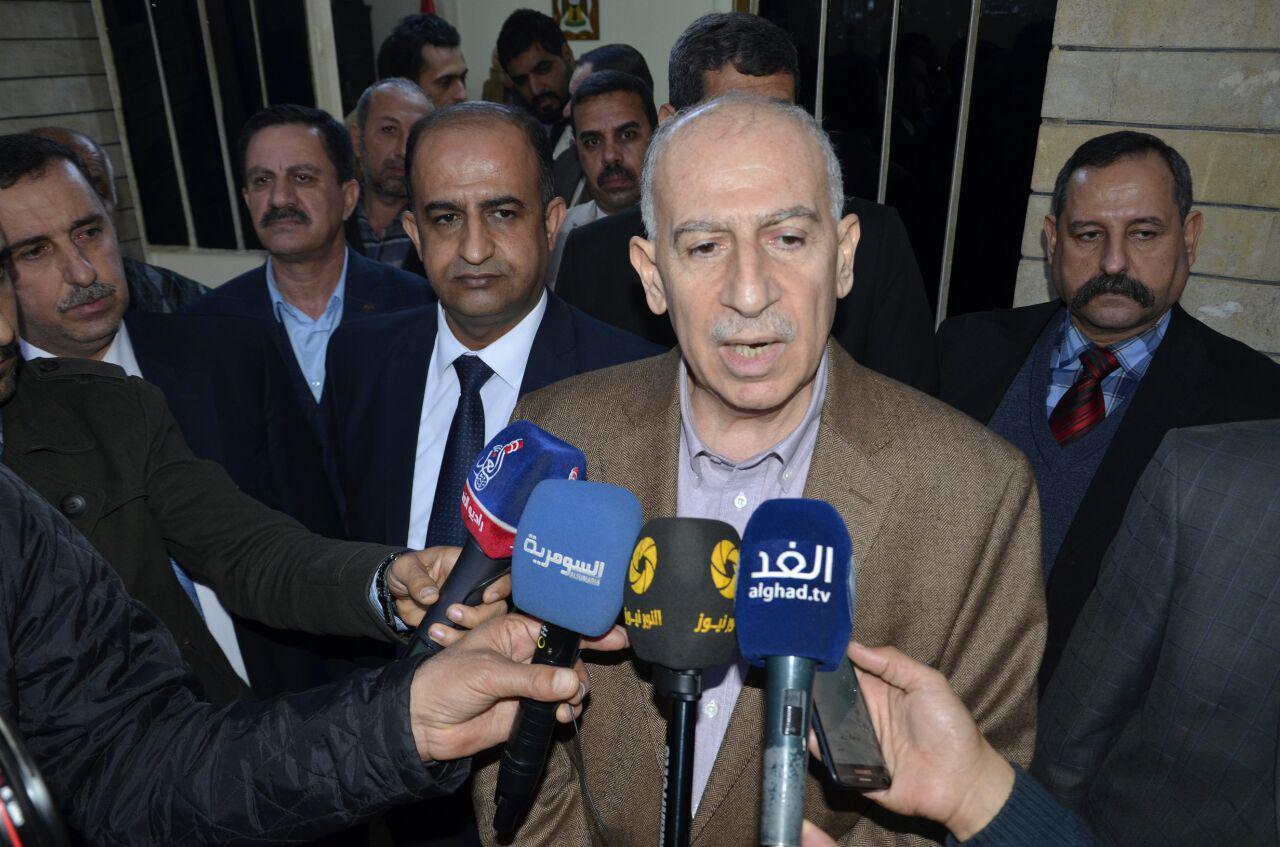 أسامة النجيفي: يجب وقف التغيير الديموغرافي في المناطق المحررة ونؤيد إجراء الانتخابات في الموصل بشروط