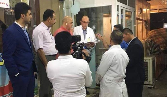 أربيل تغلق مطاعم ومحال مخالفة للضوابط والشروط الصحية