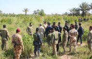 القوات الأمنية تنفذ عملية تمشيط وتفتيش جنوبي صلاح الدين