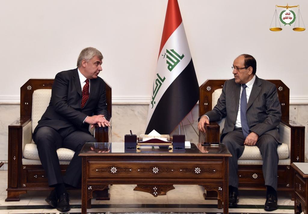 المالكي يؤكد أهمية تطوير العلاقات الثنائية بين العراق وروسيا