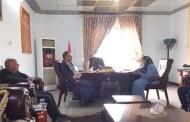 نهله الراوي تناقش مع مدير كهرباء الفرات  الاعلى إعادة التيار لجميع منازل المواطنين في الانبار