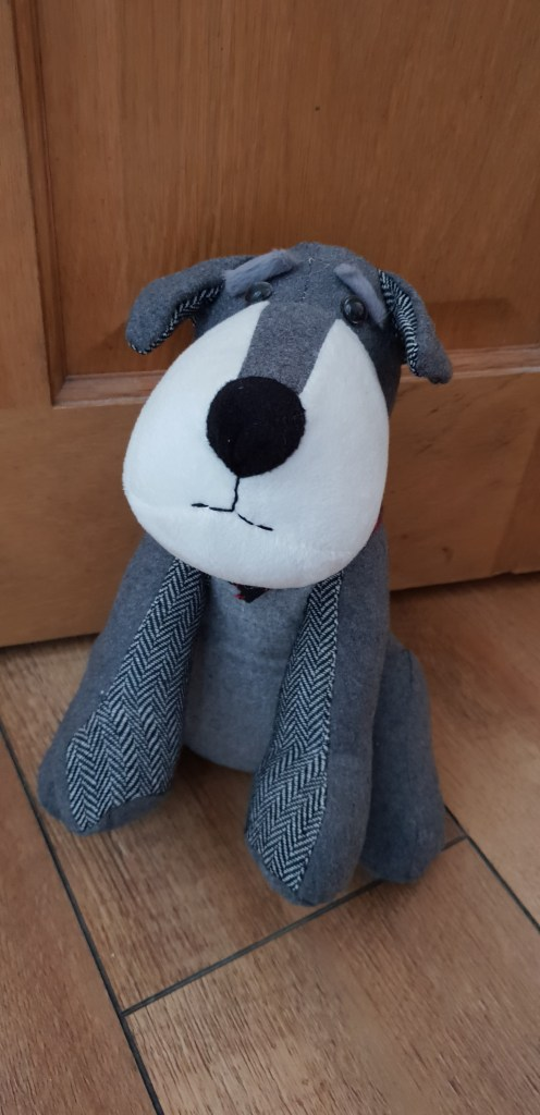 Alnwick Cottage Schnauzer Door Stop