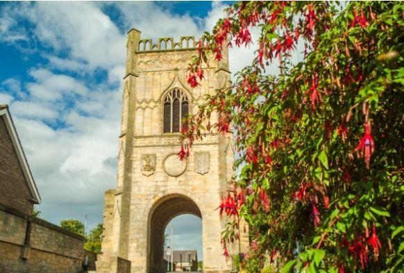 Pottergate Tower Alnwick Northumberland