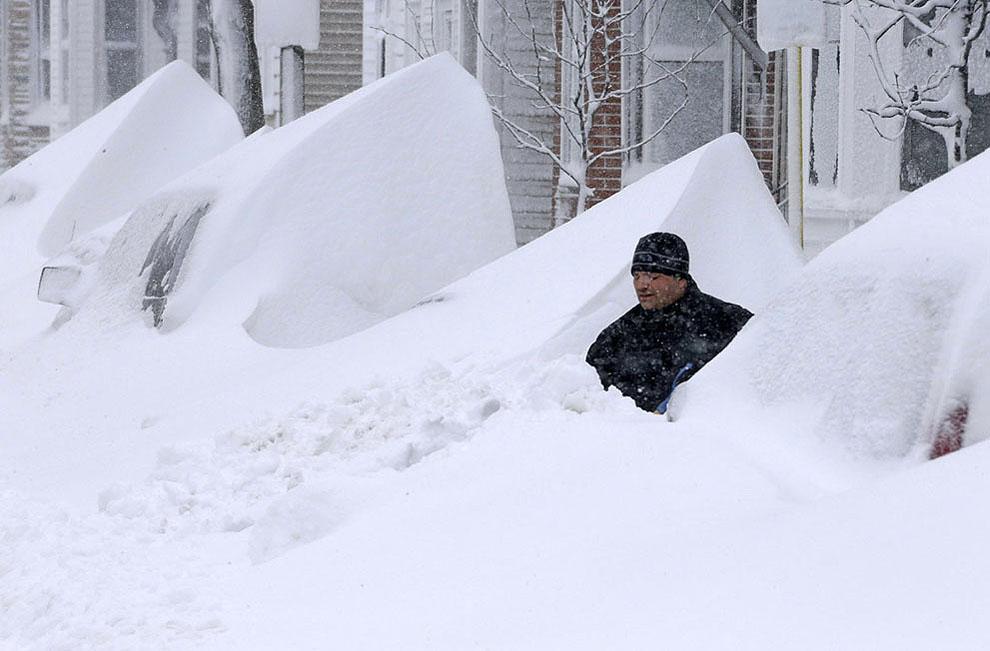 თოვლის შტორმი ნემო