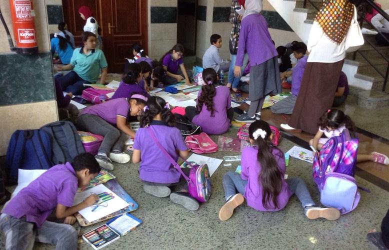 """105 مدرسة فى مسابقة """"لمحات من الهند 2017""""  بقصر ثقافة بورسعيد"""