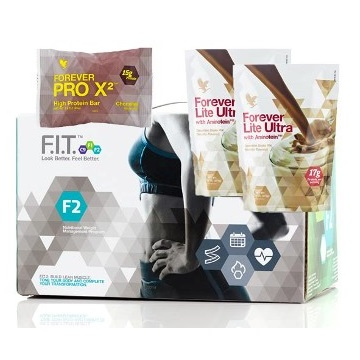 FOREVER F.I.T. 2 z Forever Lite Ultra Chocolate i ProX2 czekolada
