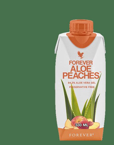 aloe peaches 33cl