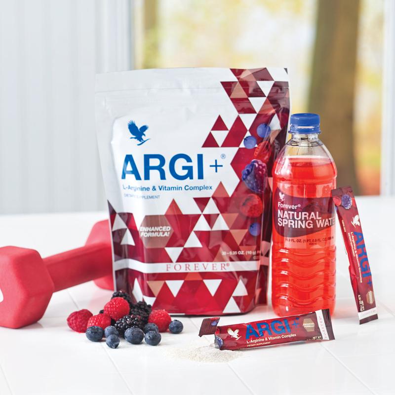 Argi plus arginine et vitamines contre la fatigue