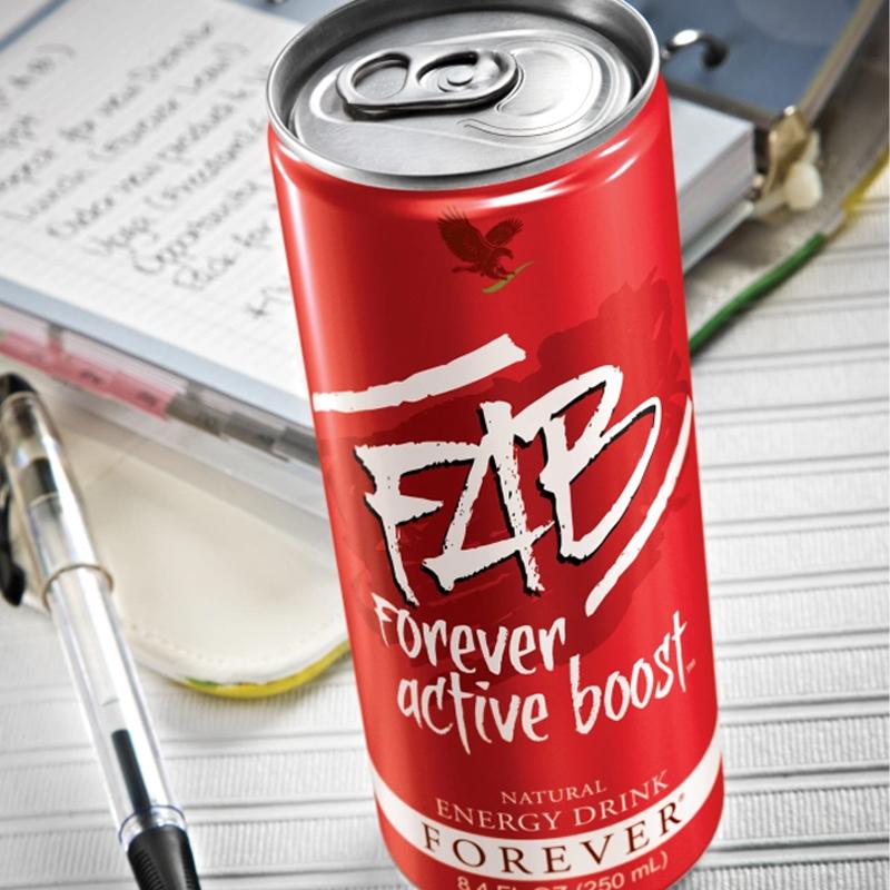 Boisson énergétique forever FAB