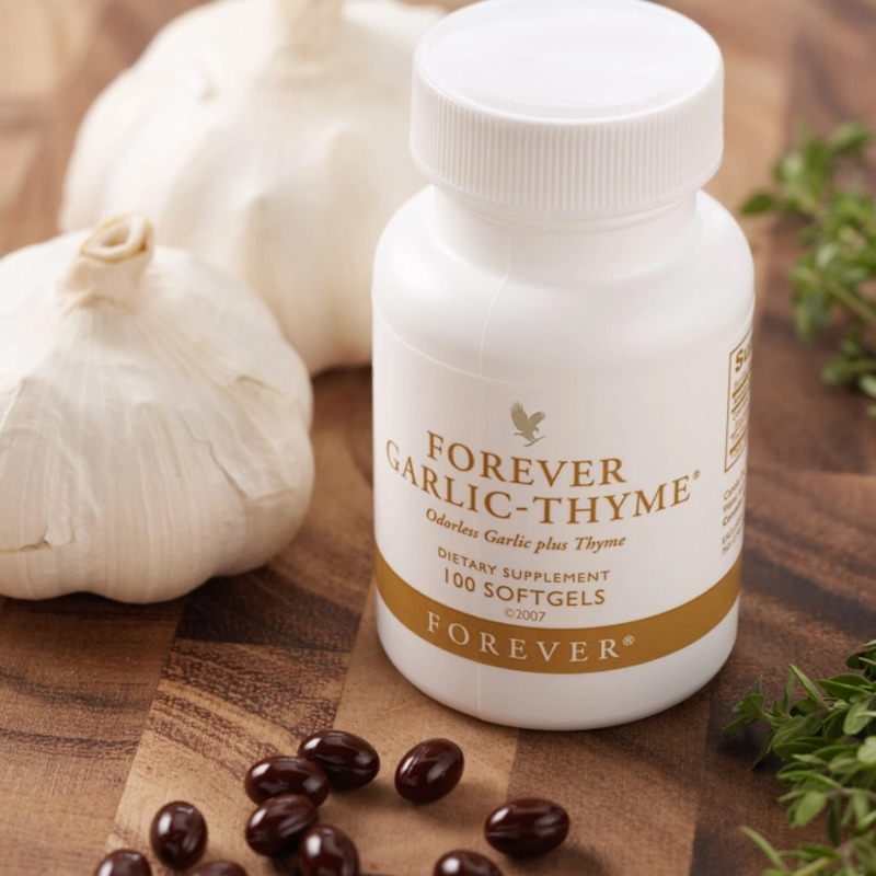 Complément alimentaire naturel forever garlic thyme