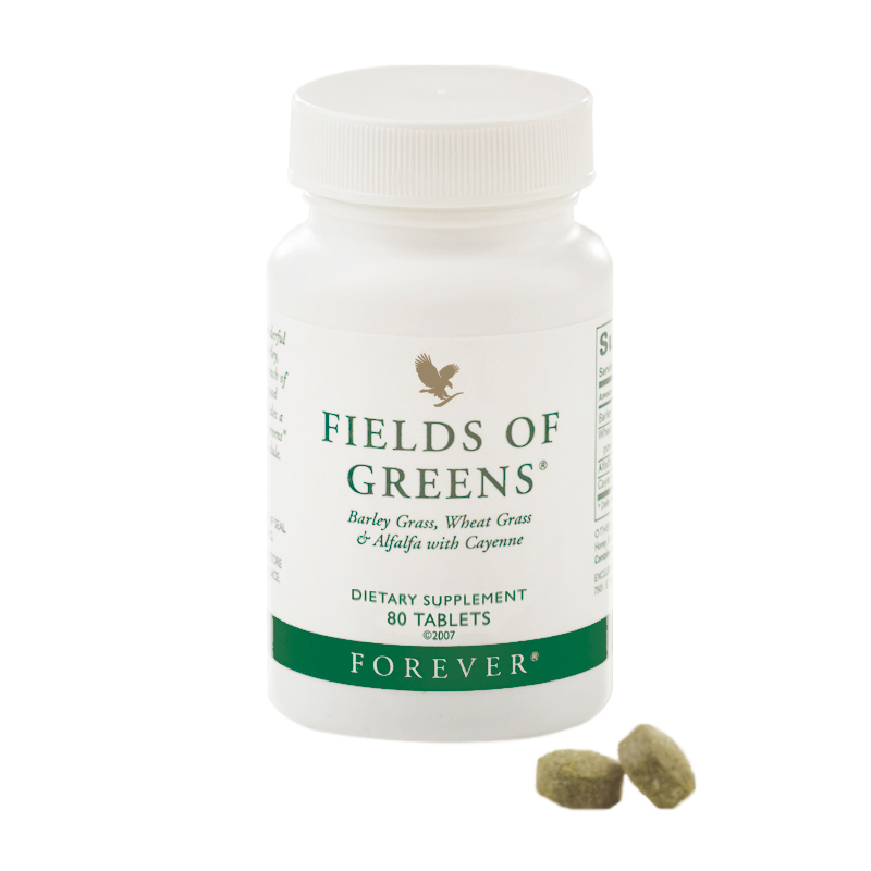 Complément alimentaire naturel Forever Fields of Greens confort digestif