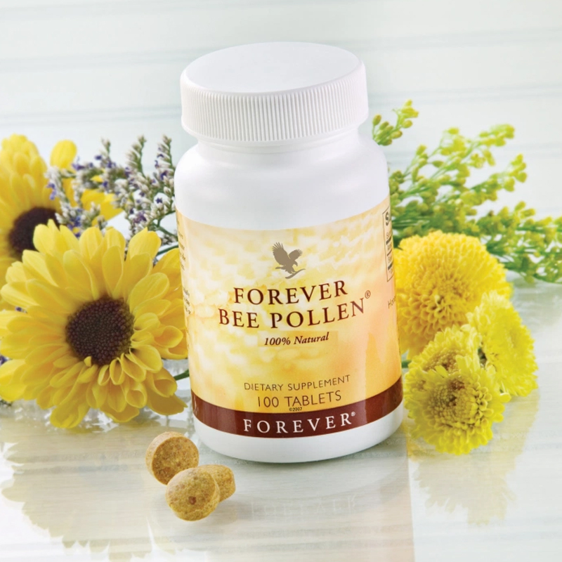 Complément alimentaire Forever Gelée Forever Bee Pollen fatigue