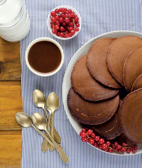 recette minceur : pancakes au chocolat