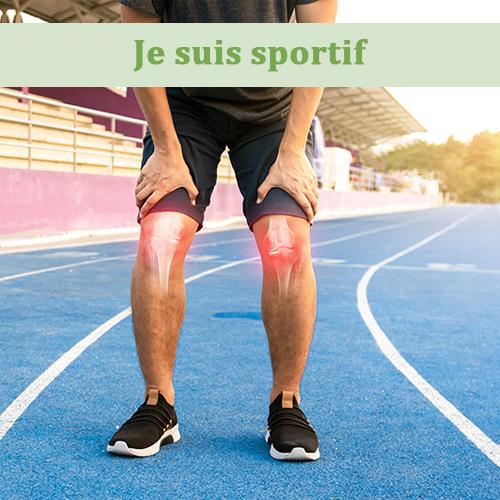 je suis sportif