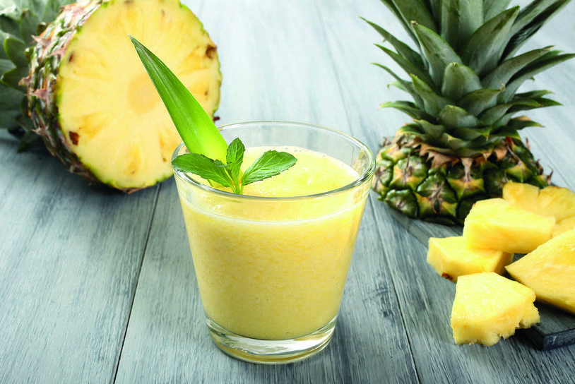 smoothie aloe vera et ananas